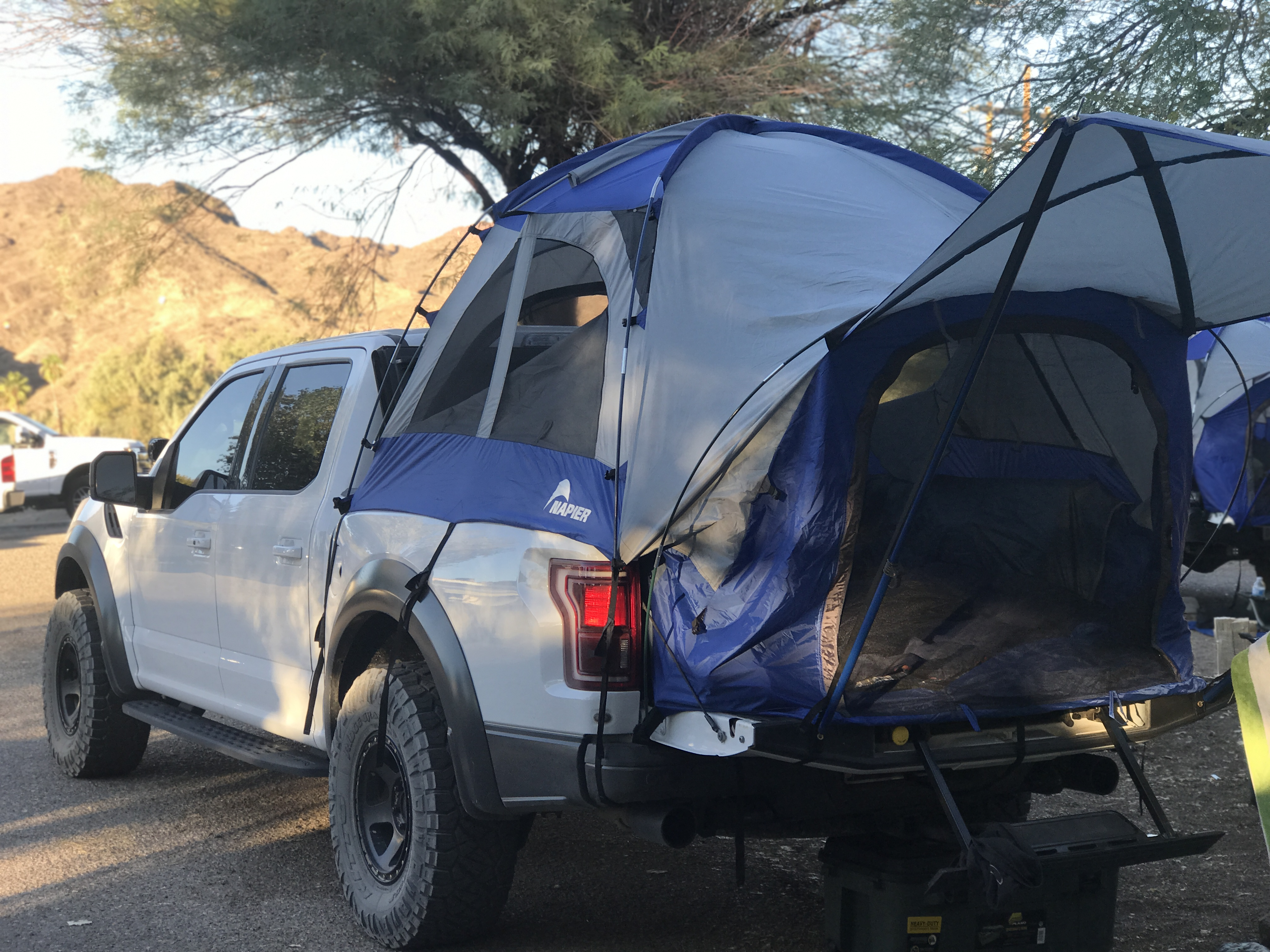 2017 Ford Raptor With Napier Sportz Truck Tent
