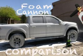 Torq Foam Cannon vs Generic Foam Cannon
